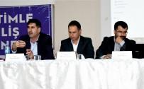 KANAAT ÖNDERLERİ - Kahta'da 'Endülüs Havzası' Paneli Düzenlendi