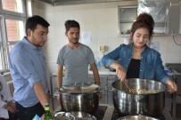 KALIFIYE - Kahta MYO Öğrencilerine Ziyafet Eğimi