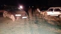 HAKAN ATEŞ - Karabük'te Trafik Kazası Açıklaması 5 Yaralı