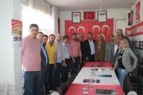 ATEŞ ÇEMBERİ - Kepez AK Parti Teşkilatından MHP'ye Ziyaret