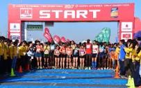 SAHİL YOLU - Yarı Maraton Başladı