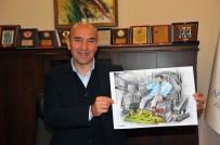 KARİKATÜR YARIŞMASI - 600'Ün Üzerinde Karikatürist 'Sakinliği' Çizdi