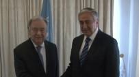 ABDURRAHMAN BULUT - Akıncı BM Genel Sekreteri Guterres İle Bir Araya Geldi