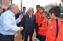 BELEVI - Bakan Kılıç, Altınordu Tesislerini Gezip Penaltı Atışı Yaptı