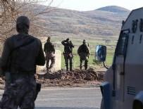 ODABAŞı - Bitlis'te 9 köyde sokağa çıkma yasağı