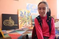 AKÜLÜ ARABA - Bu Harika Resimleri Bedensel Engelli Tuğçe Yaptı