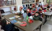 İNSANOĞLU - Burhaniyeli Minikler Kütüphane Haftasını Kutladı