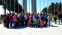 ÇANAKKALE ŞEHITLERI - Edirne Sağırlar, Spor, Kültür Ve Aileleri Dayanışma Derneği Çanakkale Şehitleri Anıtı'nı Gezdi