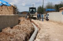 DRENAJ ÇALIŞMASI - Haliliye Belediyesinden Derinkuyu Mahallesinde Drenaj Çalışması