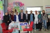 Karaman'da Kanser Haftası Kapmasında 'Bilgilendirme Standı' Açıldı