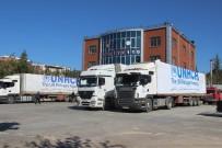 Kilis'teki Suriyelilere BM Tarafından Gönderilen Yardım Malzemeleri Dağıtıldı