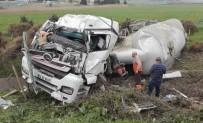 TEM OTOYOLU - Silivri'de Tanker Kazası Açıklaması 1 Yaralı