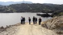 AHMET ATEŞ - Söke'de Karacahayıt Göleti Su Tutmaya Başladı