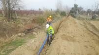 ŞEBEKE HATTI - Tarsus'un Günyurdu Mahallesi'nin İçme Suyu Sorunu Çözüldü