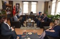 MEHMET ÇIFTÇI - Adalet Komisyonu Başkanlığı'ndan Baro Başkanı'na Ziyaret