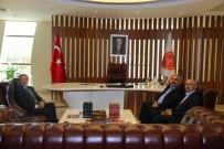 HALIL ETYEMEZ - AK Parti Konya Milletvekili Etyemez, Rektör Bağlı'yı Ziyaret Etti