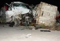 Aksaray'da Çekici Ve Kamyonet Çarpıştı Açıklaması 3 Yaralı