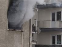 PATLAMA ANI - Ankara'da korkutan patlama