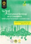 EKONOMI VE TEKNOLOJI ÜNIVERSITESI - BEÜ 3. Uluslararası Green Metric Çalıştayı 9-10 Nisan Tarihlerinde İstanbul'da Düzenlenecek
