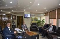 MEHMET KAYA - Bilecik M Tipi Kapalı Ve Açık Ceza İnfaz Kurumu Müdürü Gül'den Başkan Yaman'a Ziyaret