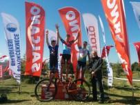 TÜRKIYE BISIKLET FEDERASYONU - Dağ Bisikleti Yarışları Nefes Kesti