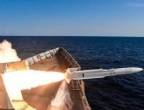 DENİZ YILDIZI - Deniz Yıldızı Tatbikatı'nda füze atışları yapıldı