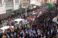 ABDULLAH ÖCALAN - HDP Binasının Açılışında Yasa Dışı Slogana Polis Engeli