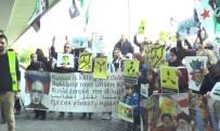 ÖZGÜR SURİYE - İdlib'teki Kimyasal Saldırı Viyana'da Protesto Edildi