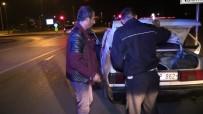 ARAÇ KULLANMAK - Polisten Kaçan Sürücü Kısa Sürede Yakalandı