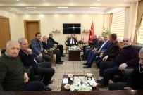 Sancaktepe Belediye Başkanı İsmail Erdem, Vali İsmail Ustaoğlu'nu Ziyaret Etti