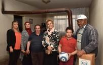 ÇALDAĞ - SOS Vakfı Onursal Başkanı Gökçek'ten Polatlı Özel Huzurevi Ve Yaşlı Bakımevine Ziyaret