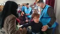 SAĞLIK TARAMASI - Türkiye'den İdlib'e Yardım