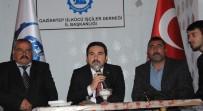 ÜLKÜCÜLER - Ülkücü İşçiler 'BAŞBUĞ' TÜRKEŞ İçin Mevlit Okuttu