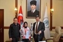 Vali Arslantaş'tan, Dünya Kayak Şampiyonasında 4 Madalya Kazanan Sporcuya Kayak Takımı