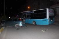 POLİS ARACI - Adıyaman'da 6 Araç Birbirine Girdi Açıklaması 3'Ü Polis 4 Yaralı