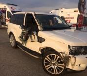 KAMYON ŞOFÖRÜ - Aracına Çarpan Kamyonun Peşini Bırakmadı Ve...