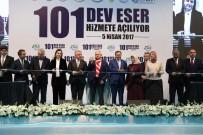 BOTANİK BAHÇESİ - Aydın'da Tamamlanan Yatırımlar Başbakan Yıldırım Tarafından Hizmete Alındı