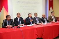 İŞ GÖRÜŞMESİ - Başkan Büyükkılıç Muhtarlar Toplantısında Yeni Yıl Yatırımlarını Anlattı