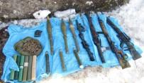 GÜLLÜCE - Bingöl'de Silah Ve Mühimmat Ele Geçirildi