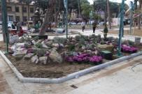 Burhaniye'de Parklar Güzelleşiyor