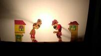 TÜRK TİYATROSU - Çocuklar İlk Kez Karagöz Oyunu İzlediler