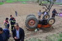 Erbaa'da Traktör Devrildi Açıklaması 1 Ölü
