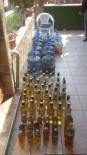 ALKOLLÜ İÇKİ - Evin Terasında Kaçak İçki Tesisi Bulundu
