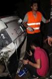 MEDİKAL KURTARMA - Fethiye'de Lüks Cip Uçuruma Yuvarlandı Açıklaması 1'İ Ağır 2 Yaralı