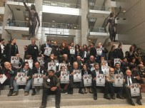 ARBEDE - İstanbul Adalet Sarayı'nda Avukatların İzinsiz Eylemine Polis Müdahale Etti