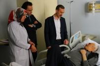 EDREMIT BELEDIYESI - Kaymakam Çiçekli'den Hasta Ziyareti