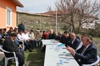 Köylüler Kırankışla Barajı Hakkında Bilğilendirildi