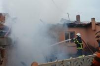 Lüleburgaz'da Ev Yangını
