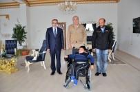 AKÜLÜ SANDALYE - Mertcan Değdaş'ın Rüyası Çat Belediye Başkanı Arif Hikmet Kılıç'ın Sayesinde Gerçek Oldu