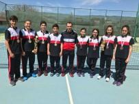EMRE BAYRAM - Özel SANKO Okulları Yıldız Erkekler Kort Tenisi Takımı İl Birincisi